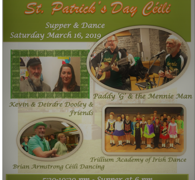 St Patrick's Day Ceili