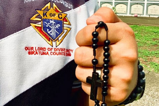 Prayers for Knights of Columbus
