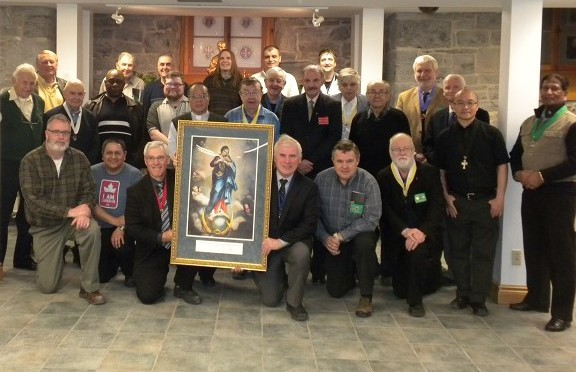 Immaculate Conception icon received by Council 12158